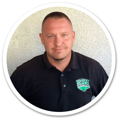 Ryyan Murphy, owner of Irish Heating & Air in Tracy, CA